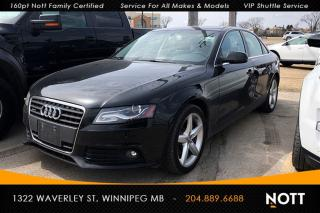 Used 2011 Audi A4 2.0T Premium (Tiptronic) Sunro for sale in Winnipeg, MB