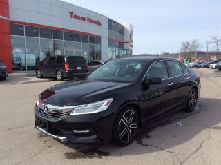 Used 2017 Honda Accord Sedan Touring..CLEAN CARPROOF..ONE OWNER..LOW KM for sale in Milton, ON