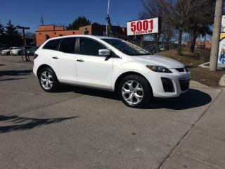 Used 2010 Mazda CX-7 4C.AWD,LEATHER,ROF,B/CAM,SAFETY+3Y WARRANTY INCLUD for sale in North York, ON