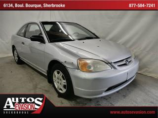 Used 2002 Honda Civic DX for sale in Sherbrooke, QC