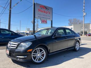 Used 2013 Mercedes-Benz C 300 4MATIC - SPORT PKG  $86 WEEKLY $0 DOWN! for sale in Gloucester, ON