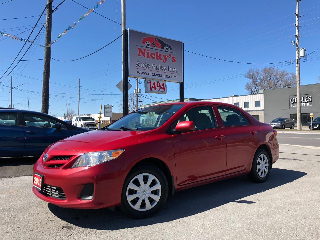 2013 Toyota Corolla CE - AUTO - CRUISE - LOADED!  $57 WEEKLY!