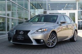 Used 2014 Lexus IS 250 AWD 6A Premium! Back Up Camera! for sale in Vancouver, BC