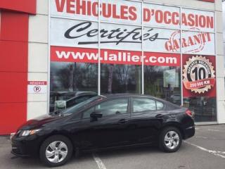 Used 2014 Honda Civic Lx Cert for sale in Montreal, QC