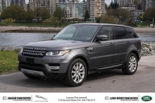 Used 2015 Land Rover Range Rover Sport V6 HSE LOW KM! *Certified Pre-Owned for sale in Vancouver, BC