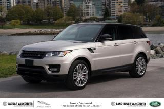 Used 2015 Land Rover Range Rover Sport V8 Supercharged Dynamic for sale in Vancouver, BC