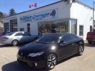 Used 2010 Kia Forte SX for sale in St Jacobs, ON