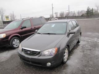 Used 2006 Kia Spectra5 gray for sale in London, ON