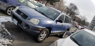 Used 2003 Hyundai Santa Fe AWD for sale in Toronto, ON