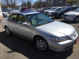 Used 2002 Honda Accord SE/AUTO/SUNROOF/ALLOYS/HEATED SEATS/LOADED!! for sale in Scarborough, ON