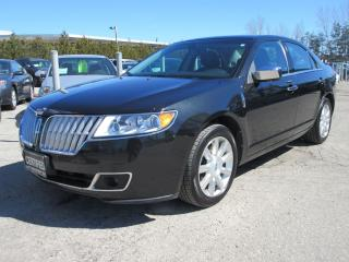 Used 2010 Lincoln MKZ ONE OWNER / ACCIDENT FREE/ LEATHER / ROOF for sale in Newmarket, ON