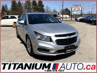 Used 2016 Chevrolet Cruze LT+Camera+Sunroof+Remote Start+BlueTooth+My Link++ for sale in London, ON