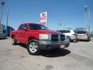 Used 2005 Dodge Dakota SLT AUTO 4DR POWER WINDOWS NO ACCIDENT A/C LOW KM for sale in Oakville, ON
