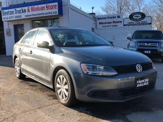 Used 2014 Volkswagen Jetta TRENDLINE+ for sale in Beeton, ON