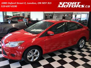 Used 2013 Ford Focus SE! Bluetooth! A/C! New Tires! Sunroof! for sale in London, ON