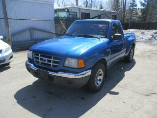 Used 2001 Ford Ranger Cabine classique, empattement de 112 po for sale in Laval, QC