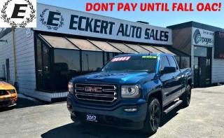 Used 2017 GMC Sierra 1500 ELEVATION 4X4 DOUBLE CAB for sale in Barrie, ON