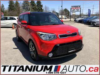 Used 2015 Kia Soul SX Luxury+GPS+Camera+Pano Roof+Vented Leather Seat for sale in London, ON