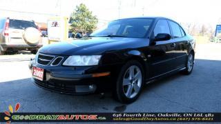 Used 2007 Saab 9-3 AutoAero|NO ACCIDENT|LEATHER|SUNROOF|NAV|CERTIFIED for sale in Oakville, ON