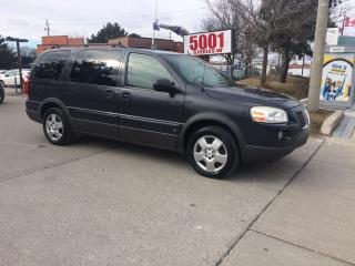 Used 2009 Pontiac Montana SV6,EXT,190KM,SAFETY+3YEARS WARRANTY INCLUDED for sale in North York, ON