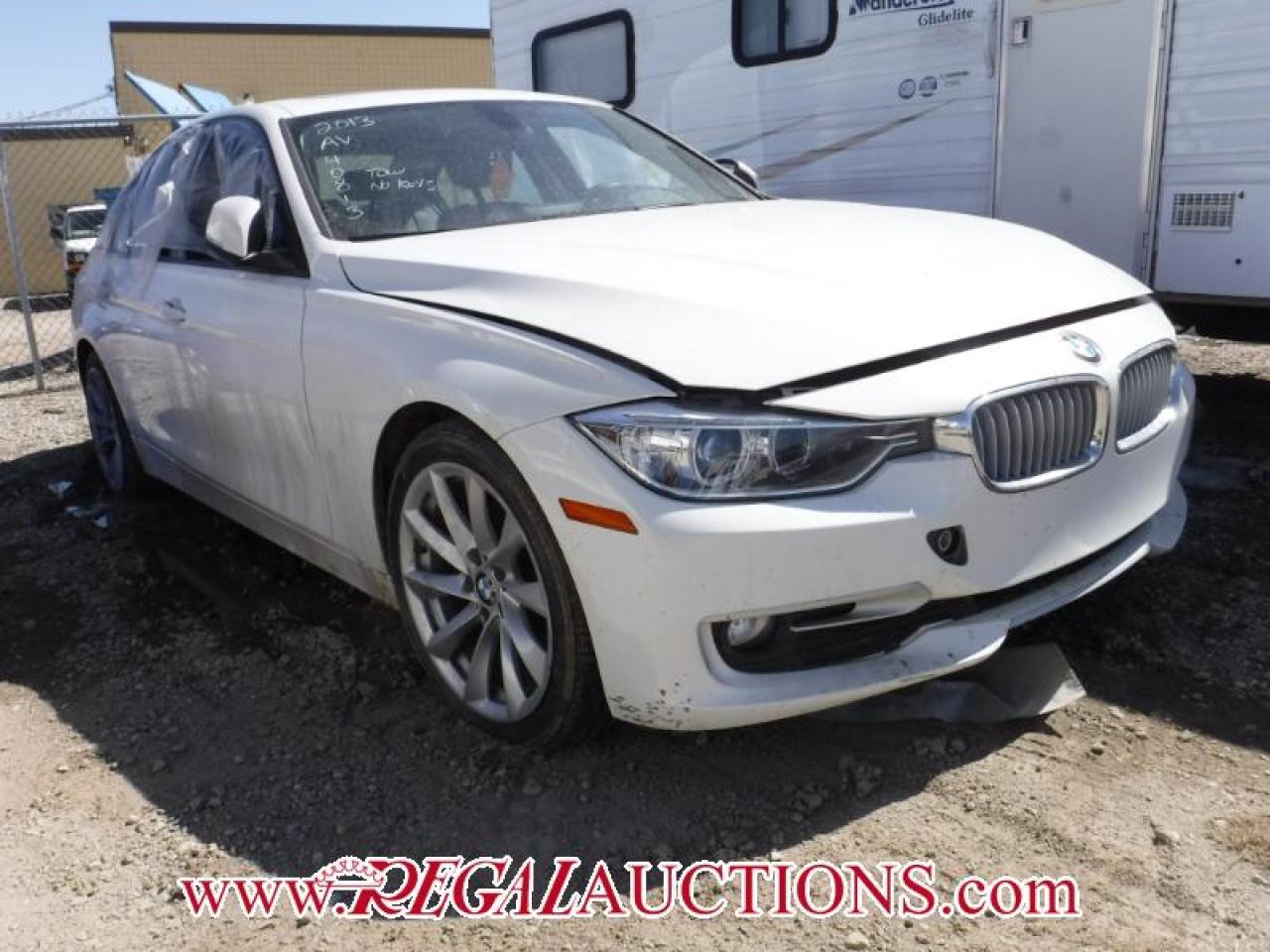 Photo of White 2013 BMW 3 SERIES 320I XDRIVE 4D SEDAN