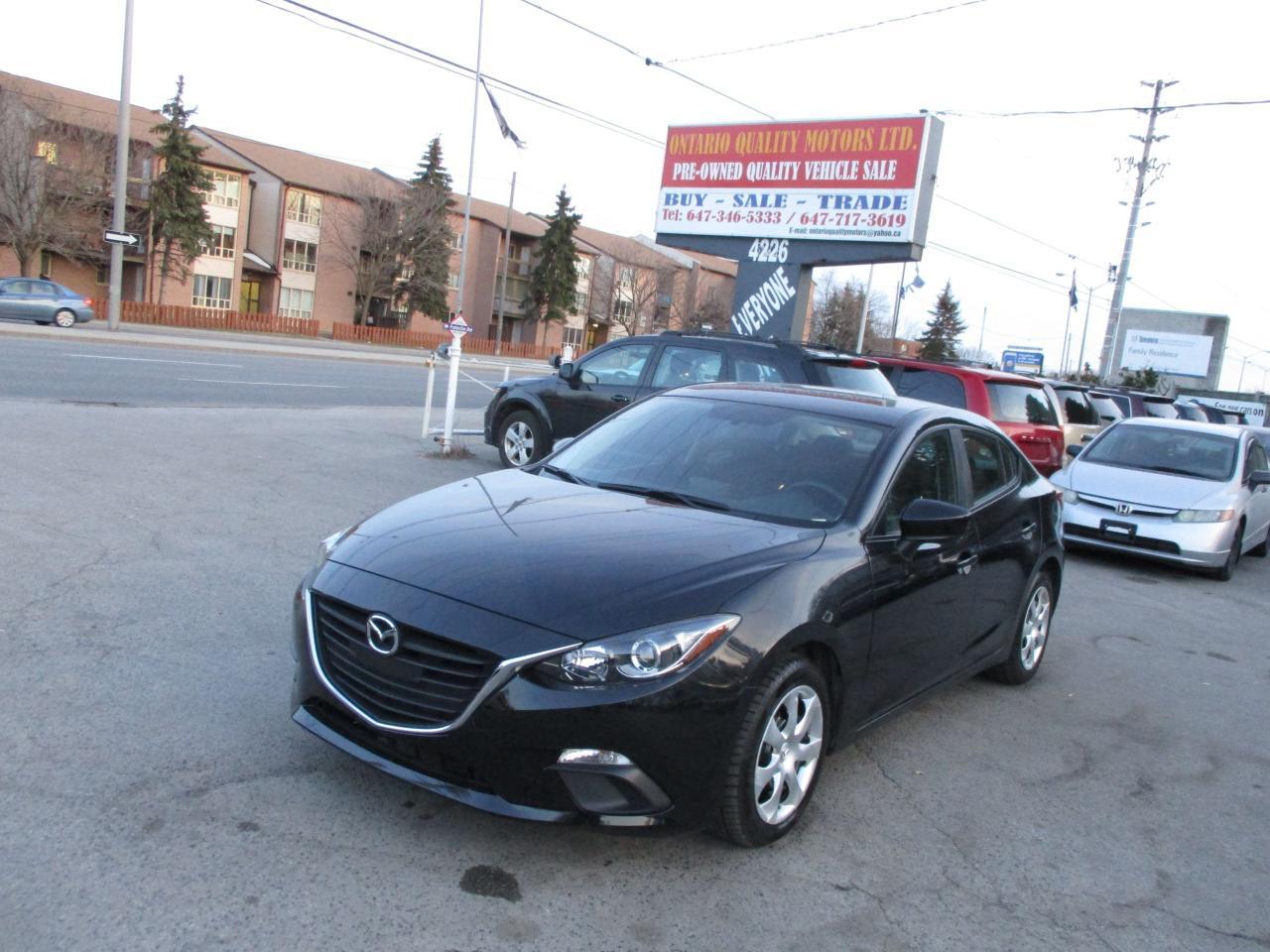 Ontario Quality Motors >> Used 2016 Mazda Mazda3 Gx Sky Navigation Back Up Camera