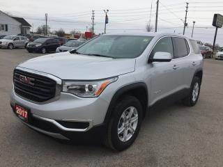 Used 2017 GMC ACADIA SLE * REAR CAM * BLUETOOTH * VOICE COMMAND * LOW KM * 7 PASS for sale in London, ON