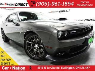 Used 2016 Dodge Challenger Scat Pack Shaker| 485 HP| SUNROOF| NAVI| LOW KM'S| for sale in Burlington, ON
