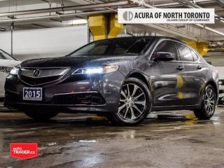 Used 2015 Acura TLX 2.4L P-AWS w/Tech Pkg Accident Free| Navigation| B for sale in Thornhill, ON