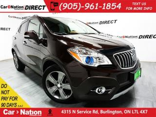 Used 2014 Buick Encore | LEATHER| SUNROOF| BACK UP CAMERA| for sale in Burlington, ON