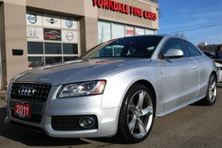 Used 2011 Audi A5 2.0T Quattro. Navi. Panoramic. Blind Spot for sale in North York, ON