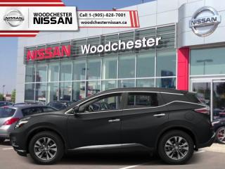 New 2018 Nissan Murano FWD S  - Cloth Interior - $208.01 B/W for sale in Mississauga, ON