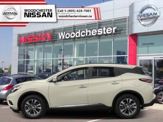 New 2018 Nissan Murano AWD SL  - $289.93 B/W for sale in Mississauga, ON