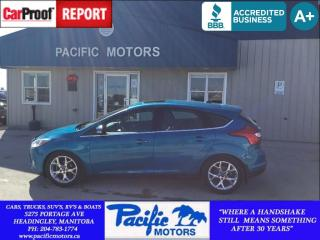 Used 2012 Ford Focus SEL for sale in Headingley, MB