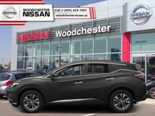 New 2018 Nissan Murano AWD SL  - $288.82 B/W for sale in Mississauga, ON