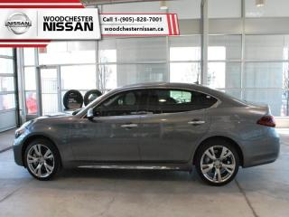 Used 2016 Infiniti Q70 L V6 Premium  - one owner - Leather Seats - $282.70 B/W for sale in Mississauga, ON