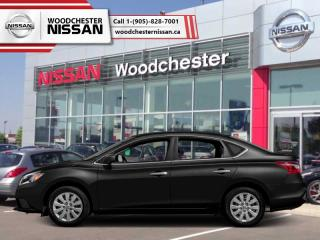 New 2018 Nissan Sentra 1.8 SV  - Style Package - $147.29 B/W for sale in Mississauga, ON