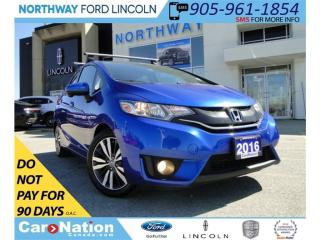 Used 2016 Honda Fit EX-L | NAV | MOON ROOF | REAR CAMERA | LEATHER | for sale in Brantford, ON
