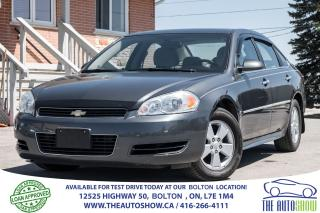 Used 2010 Chevrolet Impala LT CERTIFIED NO ACCIDENTS for sale in Caledon, ON