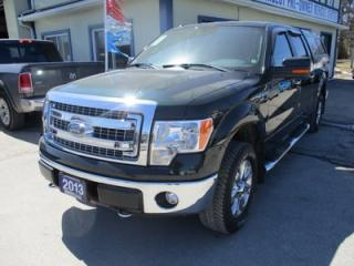 Used 2013 Ford F-150 WORK READY XLT MODEL 6 PASSENGER 5.0L - V8.. 4X4.. CREW.. SHORTY.. SYNC TECHNOLOGY.. BACK-UP CAMERA.. POWER PEDALS.. for sale in Bradford, ON