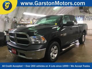 Used 2014 Dodge Ram 1500 SXT*QUAD CAB*4X4*HEMI*TRAILER BRAKE CONTROL*FOLDING TOW MIRRORS*HITCH RECEIVER w/PIN CONNECTOR*TTOW/HAUL MODE*SIDE STEPS*BOX LINER* for sale in Cambridge, ON