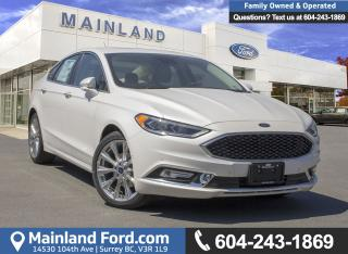 New 2018 Ford Fusion PLATINUM for sale in Surrey, BC