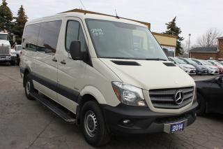 Used 2014 Mercedes-Benz Sprinter 2500 5 Passenger for sale in Brampton, ON