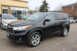 Used 2016 Toyota Highlander Limited Hybird Panorama Loaded for sale in Brampton, ON