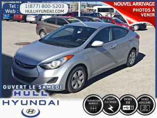 Used 2013 Hyundai Elantra L,petit Budget for sale in Gatineau, QC