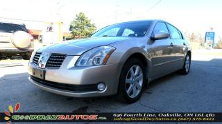 Used 2006 Nissan Maxima 3.5 SE|ALLOYS|LEATHER|SUNROOF|BLUETOOTH|CERTIFIED for sale in Oakville, ON