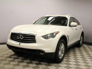 Used 2012 Infiniti FX35 Premium AWD - Local Alberta Trade In | No Accidents | 18 Inch Wheels | Power Liftgate | Power Sunroof | Heated/Cooled Front Seats | Memory Seats | Media Screen | Back Up Camera | Dual Zone Climate Control with AC | Memory Seats | BOSE Audio | Bluetooth |  for sale in Edmonton, AB