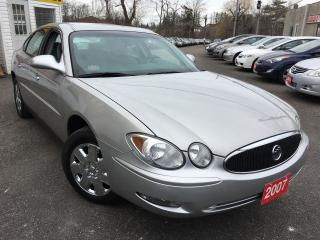 Used 2007 Buick Allure CX/AUTO/ALLOYS/FOG LIGHTS/LOADED! for sale in Scarborough, ON