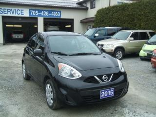 Used 2015 Nissan Micra SV Hatchback for sale in Beaverton, ON