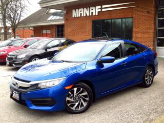 Used 2016 Honda Civic EX Sunroof Heated Seats One Owner Cert for sale in Concord, ON